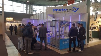 Photoneo booth at Motek 2017