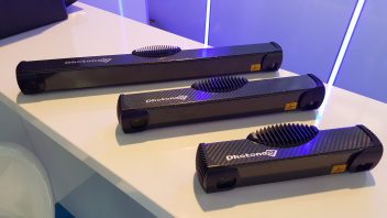 PhoXi 3D Scanners on display