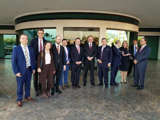 Photoneo with Slovak President Andrej Kiska in Mexico