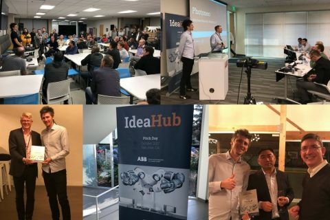 ABB Pitch Day and the Silicon Valley Robotics Meetup