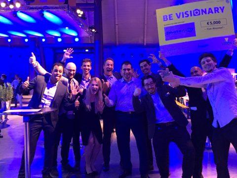 BeVisionary - Photoneo winning the Vision Award 2018