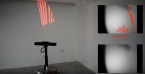 3 d scanning of room
