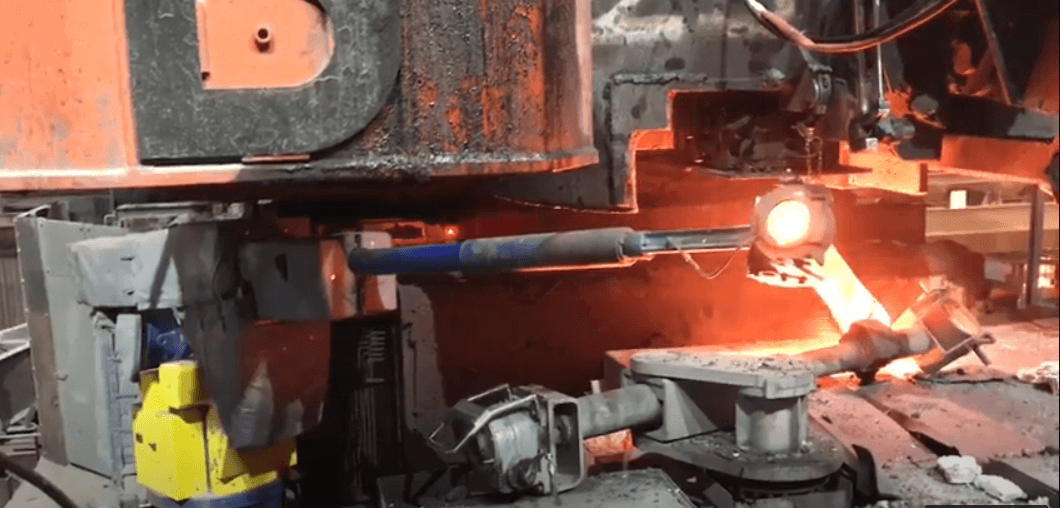Robot handling of heavy shrouds