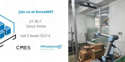 Come to see Photoneo universal Depalletizer at KoreaMAT!