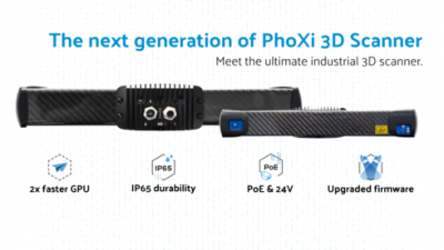 The next generation of PhoXi 3D Scanner has arrived!