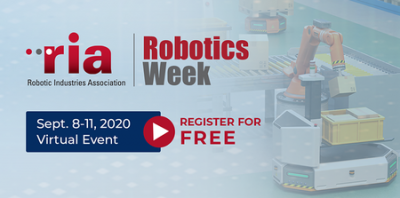 Join Photoneo at the virtual ria Robotics Week 2020