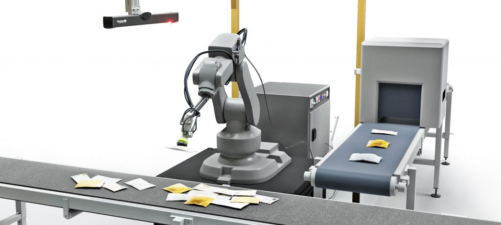 How singulation and sorting of parcels can benefit from AI-powered robots