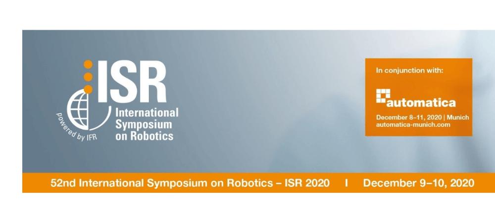 Join Photoneo talk at the International Symposium on Robotics