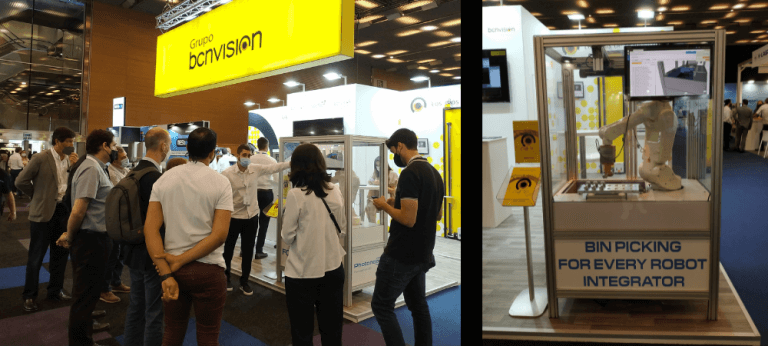 Photoneo technology exhibited live at Advanced Factories