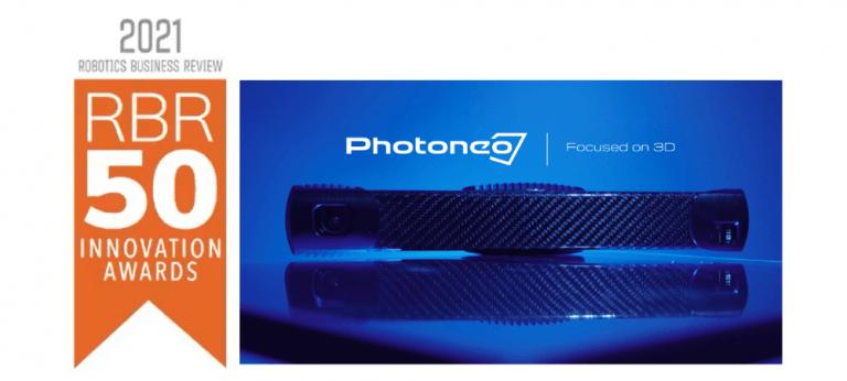 Photoneo wins the RBR50 Award 2021