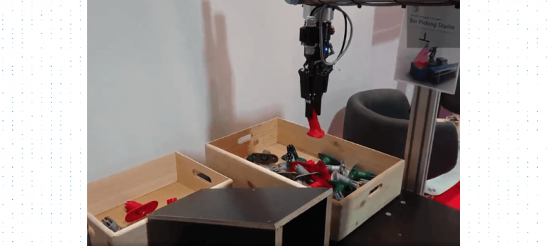Bin Picking Studio showcased at All About Automation