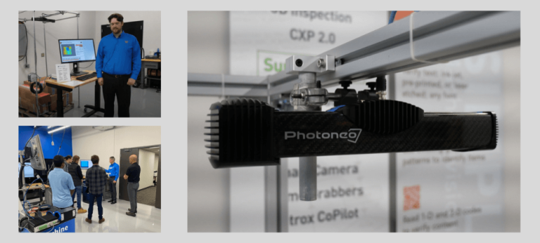 Machine Vision Store presents Photoneo technology at the Vision Days Open House