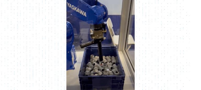 Photoneo's ultimate bin picking tool displayed at PPMA